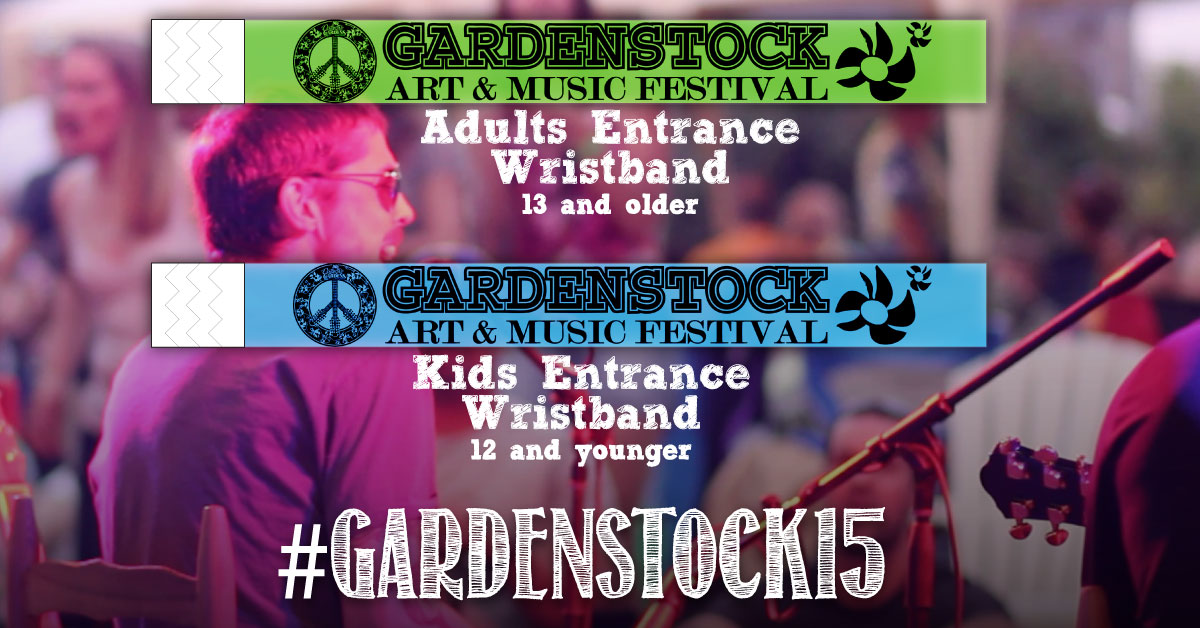 Gardenstock 2015 Tickets