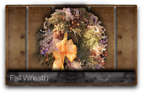 2014 Fall Wreath Class